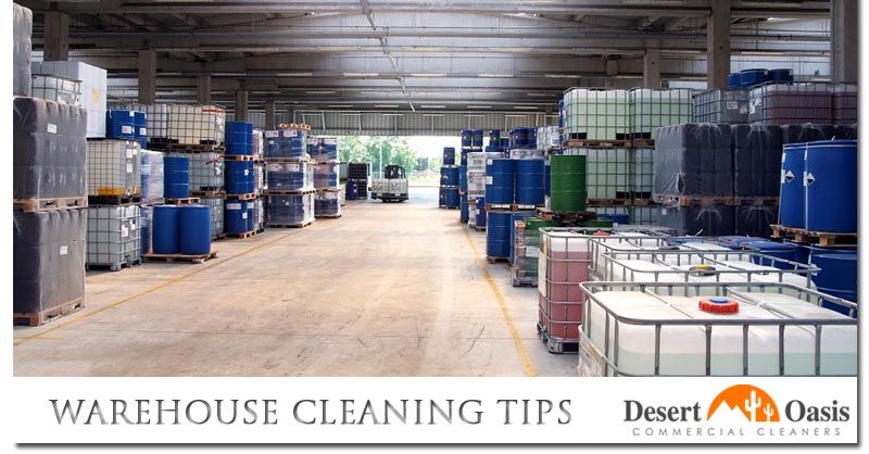 Warehouse Cleaning Tips